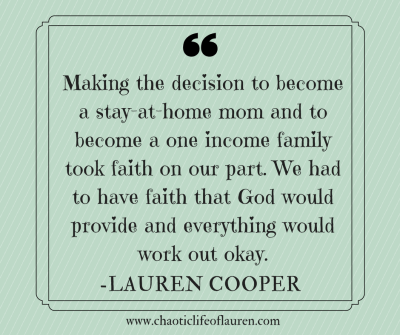 Finding Faith to Become a Stay-at-Home Mom | Stay at home ...