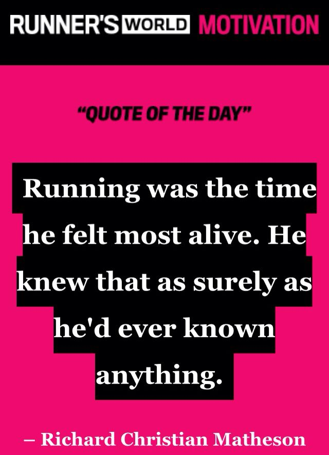 Runners World Quote Of The Day