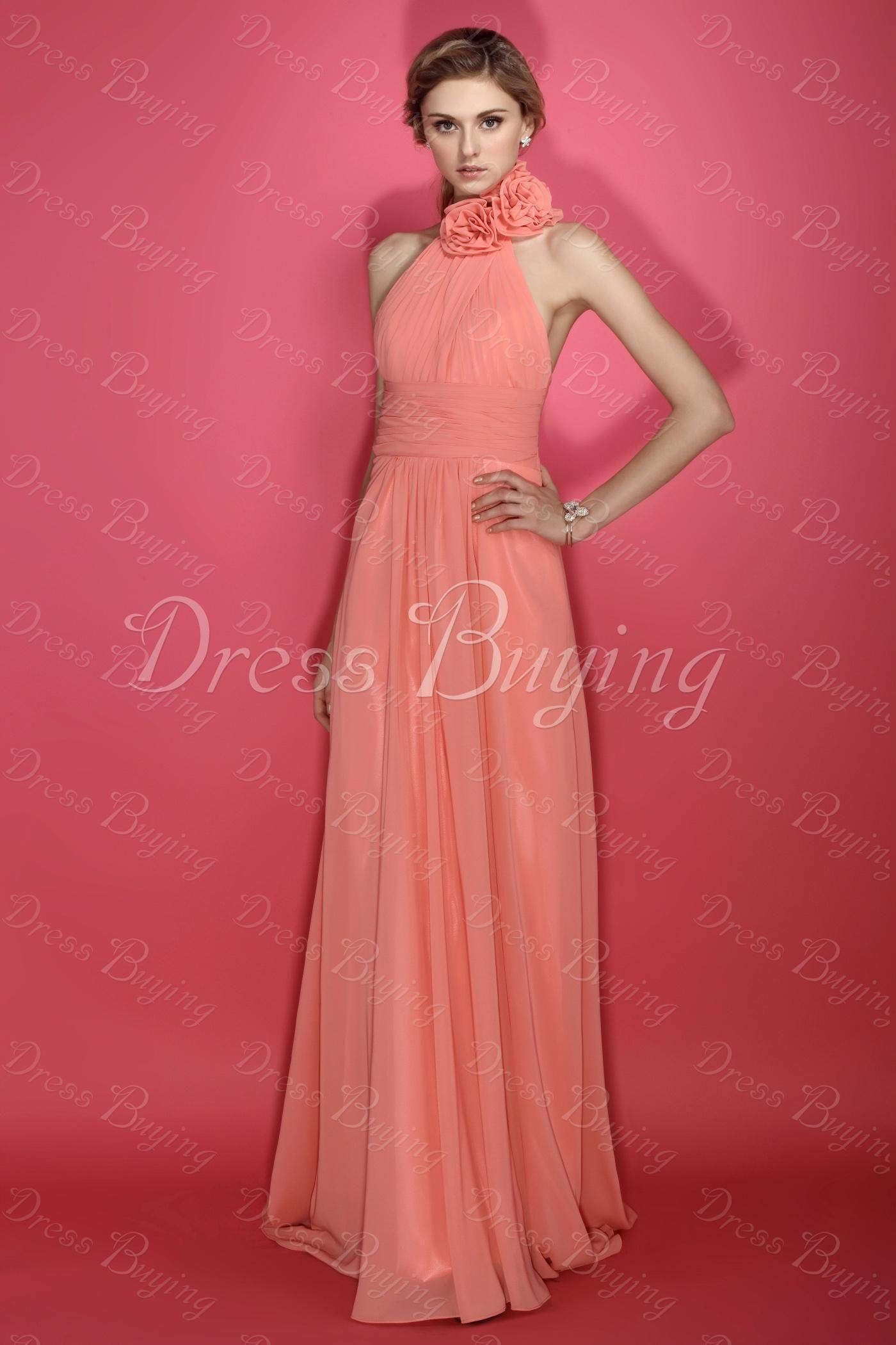Neckline A-line Empire Plus Size Bridesmaid Dress US$ 125.29 ...