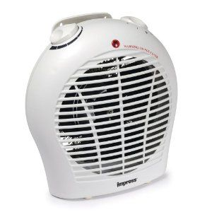 Impress 1500 Watt Space Heater With A Quiet Fan And Adjustable Thermostat Heater Cheap Heater Best Space Heater Heater Space Heater