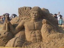 Like this sand art..??