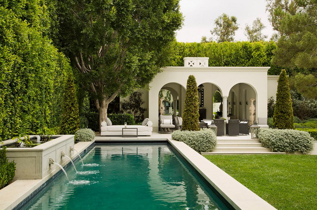 25 elegant garden landscaping inspiration ideas for Pool design ventura