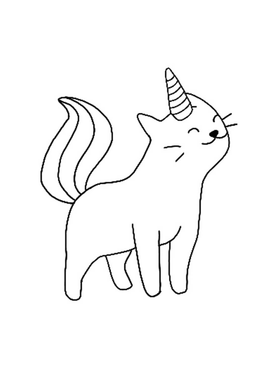 23++ Cat unicorn coloring pages cute ideas in 2021