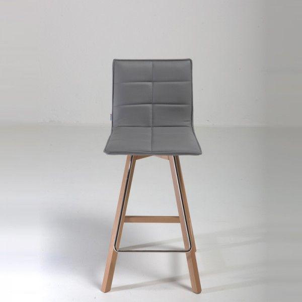 Tabouret De Bar Ou Snack Design Iris Structure Bois 4 Pieds Tables Chaises Et Tabourets Tabouret De Bar Tabouret Bois