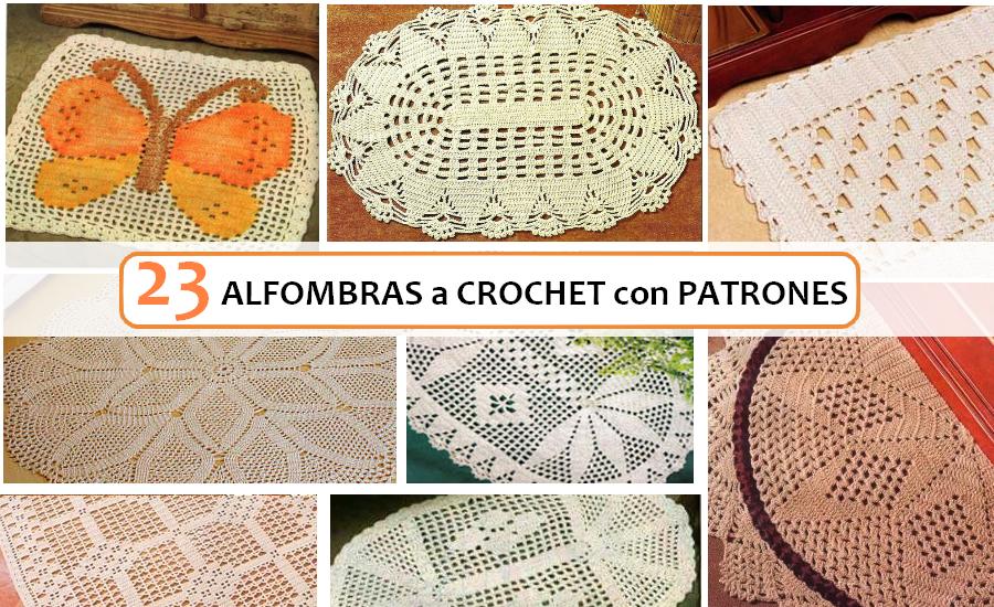 23 Ideas de Alfombras a Crochet con Patrones | Future sewing | Pinterest