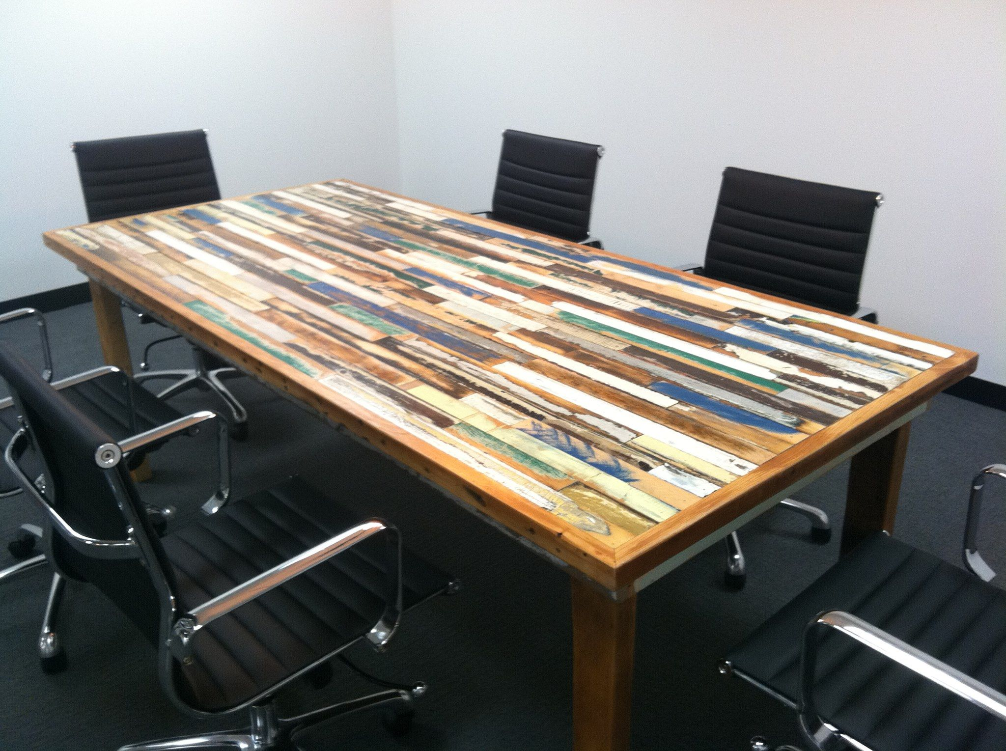 conference room table ideas. Conference Room Table Made With Window Frames Ideas F