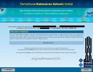 My Own Little W0rld Panduan Isi Borang Nikah Online Negeri Sembilan Nikah Wedding Event Planning Negeri Sembilan