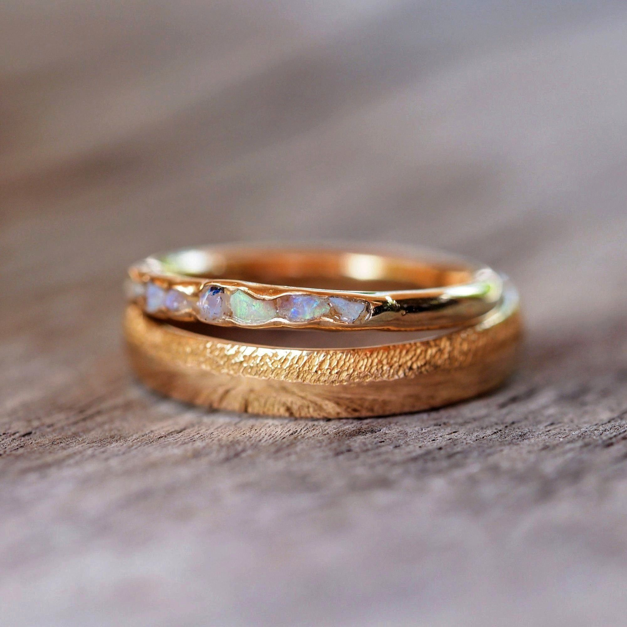 ring in eco gold  Made to order  Hidden gemstone ring in gold Made to order  Etsy Hidden gemstone ring in eco gold  Made to order  Hidden gemstone ring in gold Made to or...