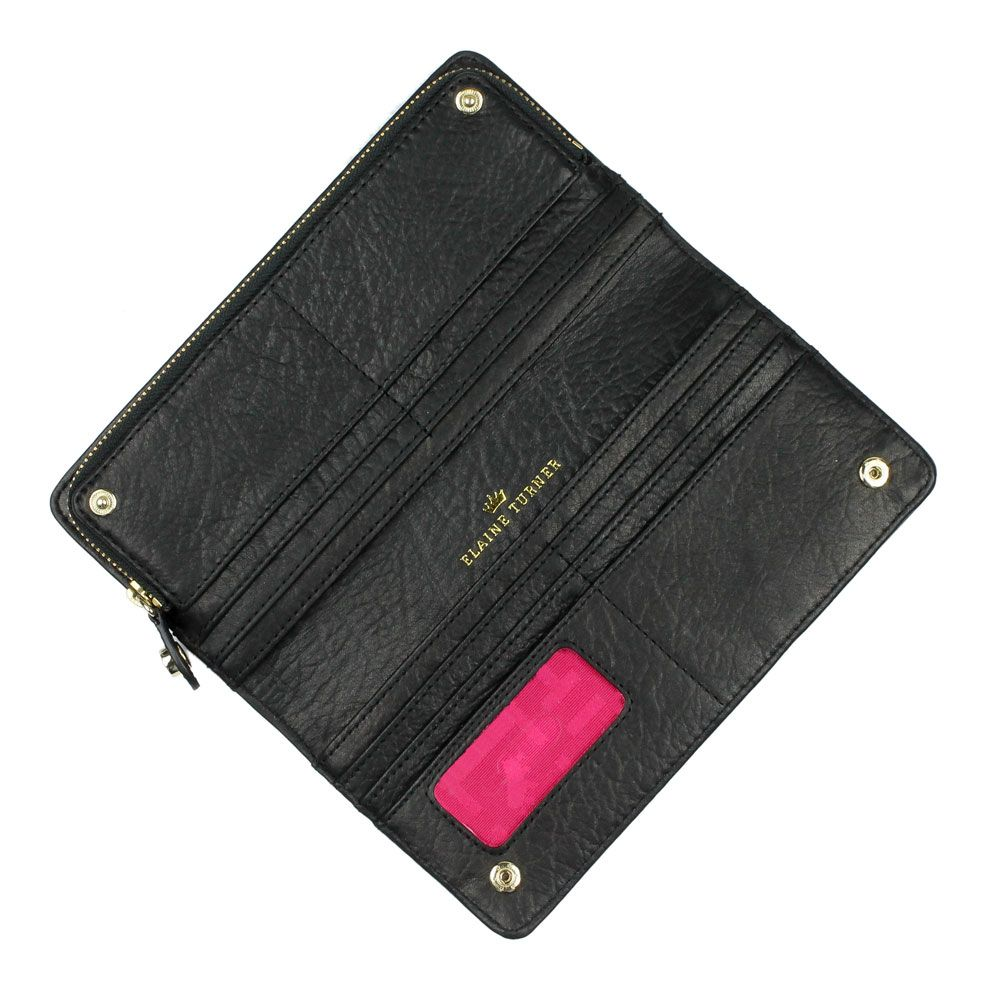 the continental snap wallet is a classic with an updated