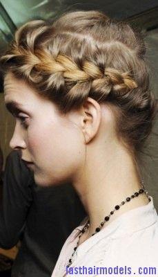 Roman Braid2 Jpg 229 400 Pixels Hair Styles Elegant Braided Hairstyle Braids For Short Hair