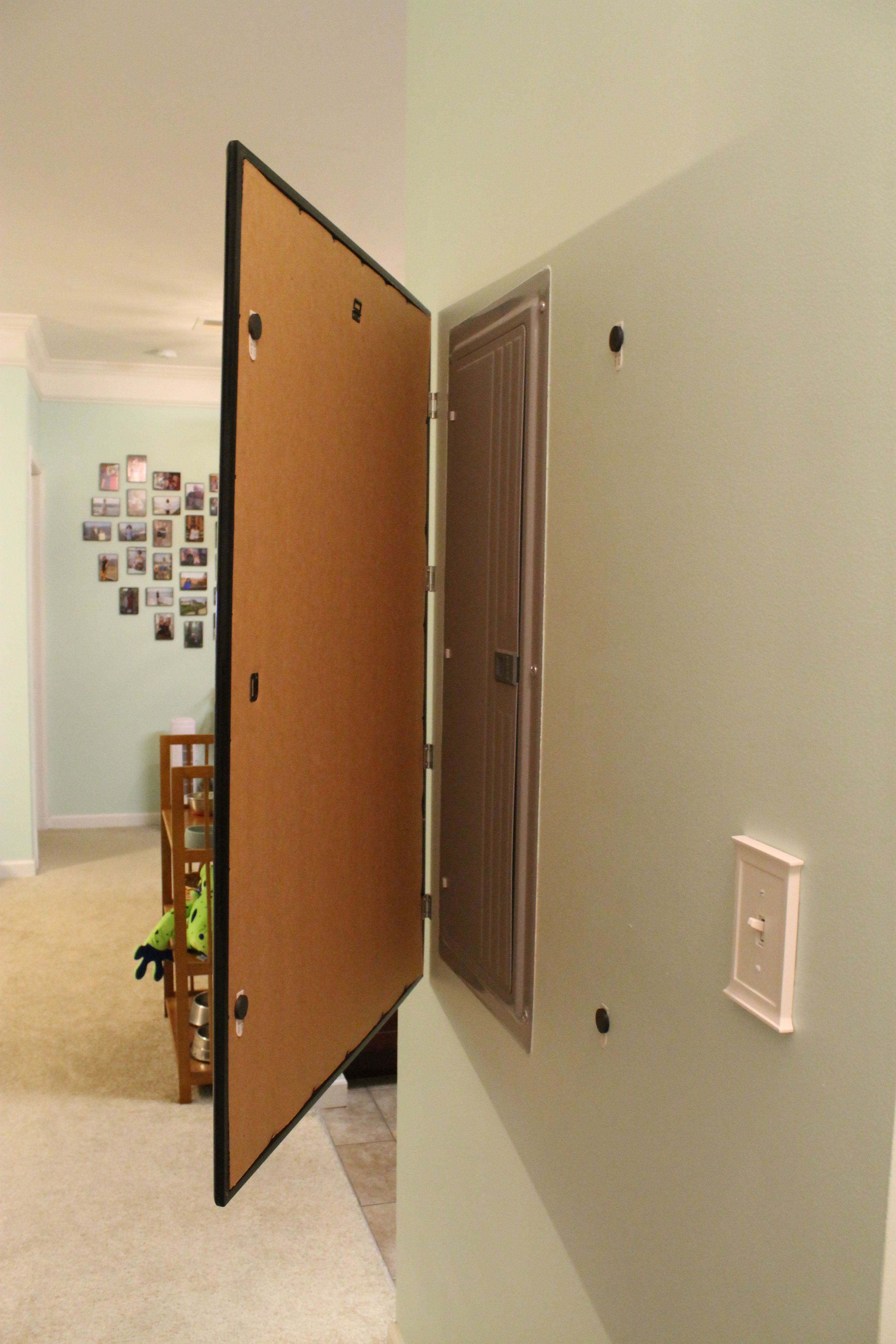 Decorating Ideas To Hide A Fuse Box
