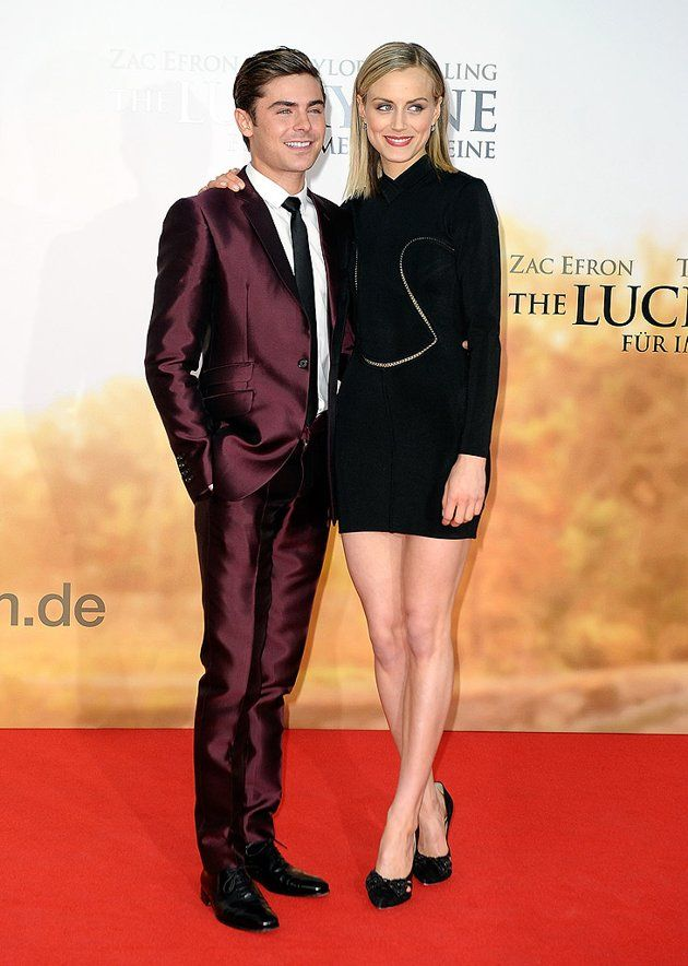 Zac Efron And Taylor Schilling Of The Lucky One With Images