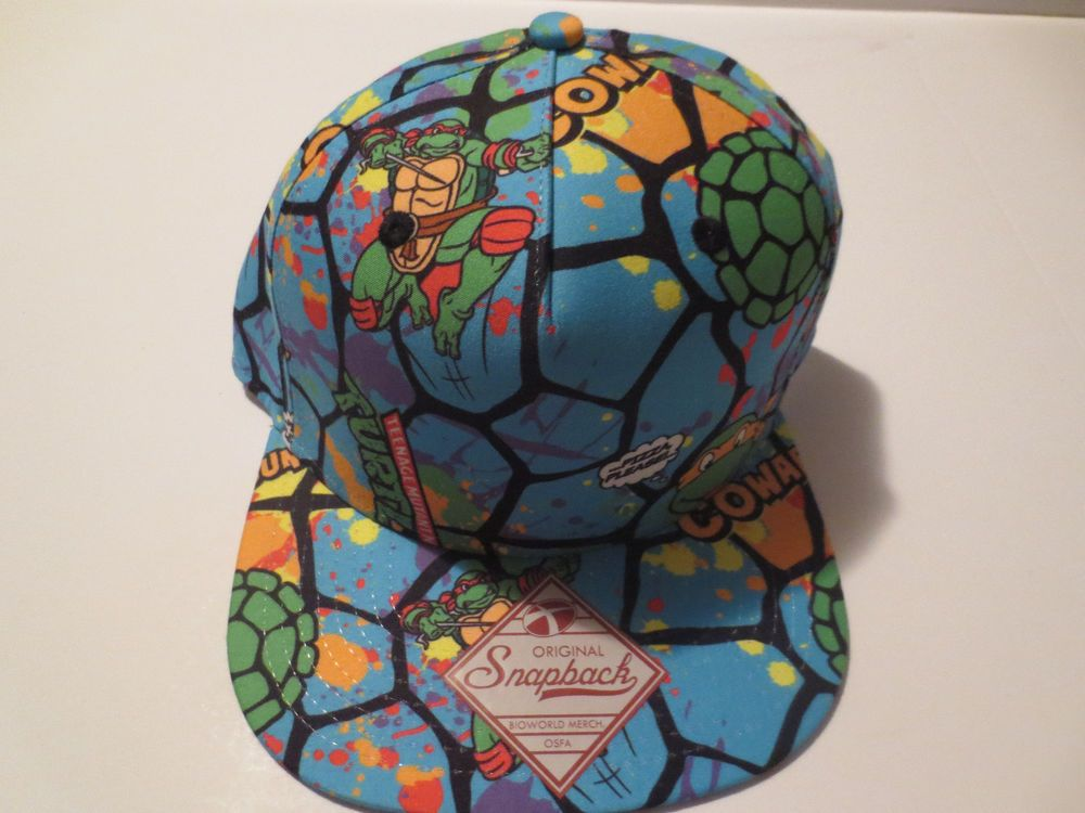 924c2f7f1f6 TMNT Teenage Mutant Ninja Turtles Hat Cap Snapback Costume Cosplay Comics  Hat  TeenageMutantNinjaTurtles  BaseballCap