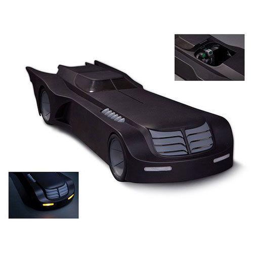 Batman The Animated Series Batmobile Vehicle with Lights