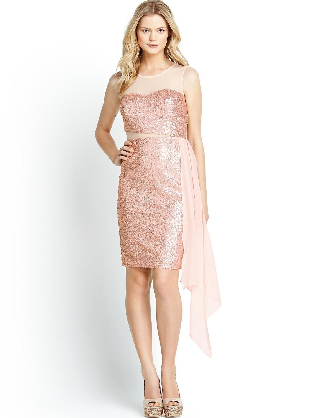 Sequin and Mesh Dress, £27 http://www.littlewoods.com/definitions ...