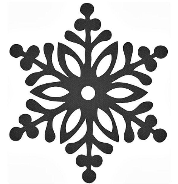 Printable Snowflake Templates to Get You Through Any Snow Day