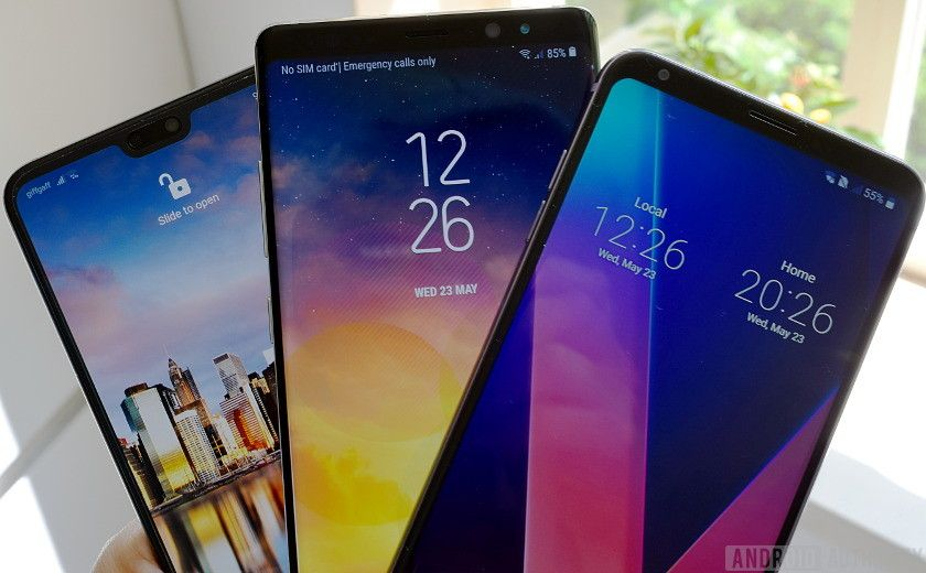 Best Phone For Power Users Note 8 Vs Lg V30 Vs P20 Pro Google Android Smartphones Os News Androidnews Follow Us On Galaxy Memory Cards Samsung Galaxy S9