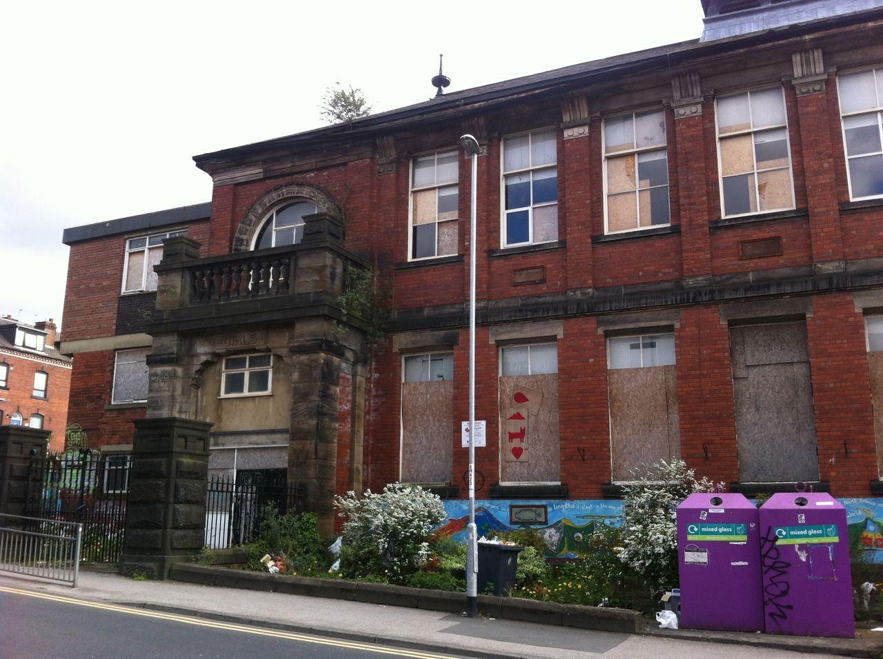 abandoned primary school leeds, UK