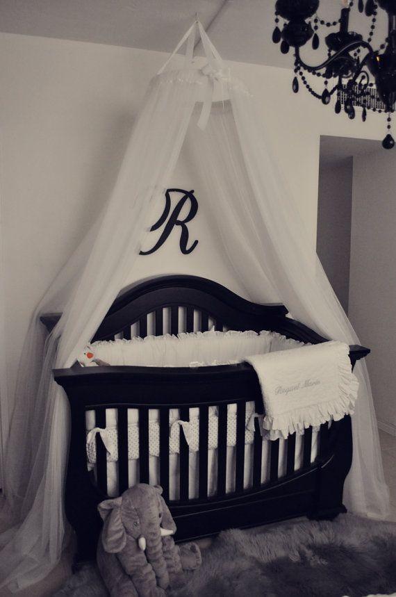 Handmade Crib Canopy Bebe Bebe Ninos Cunas