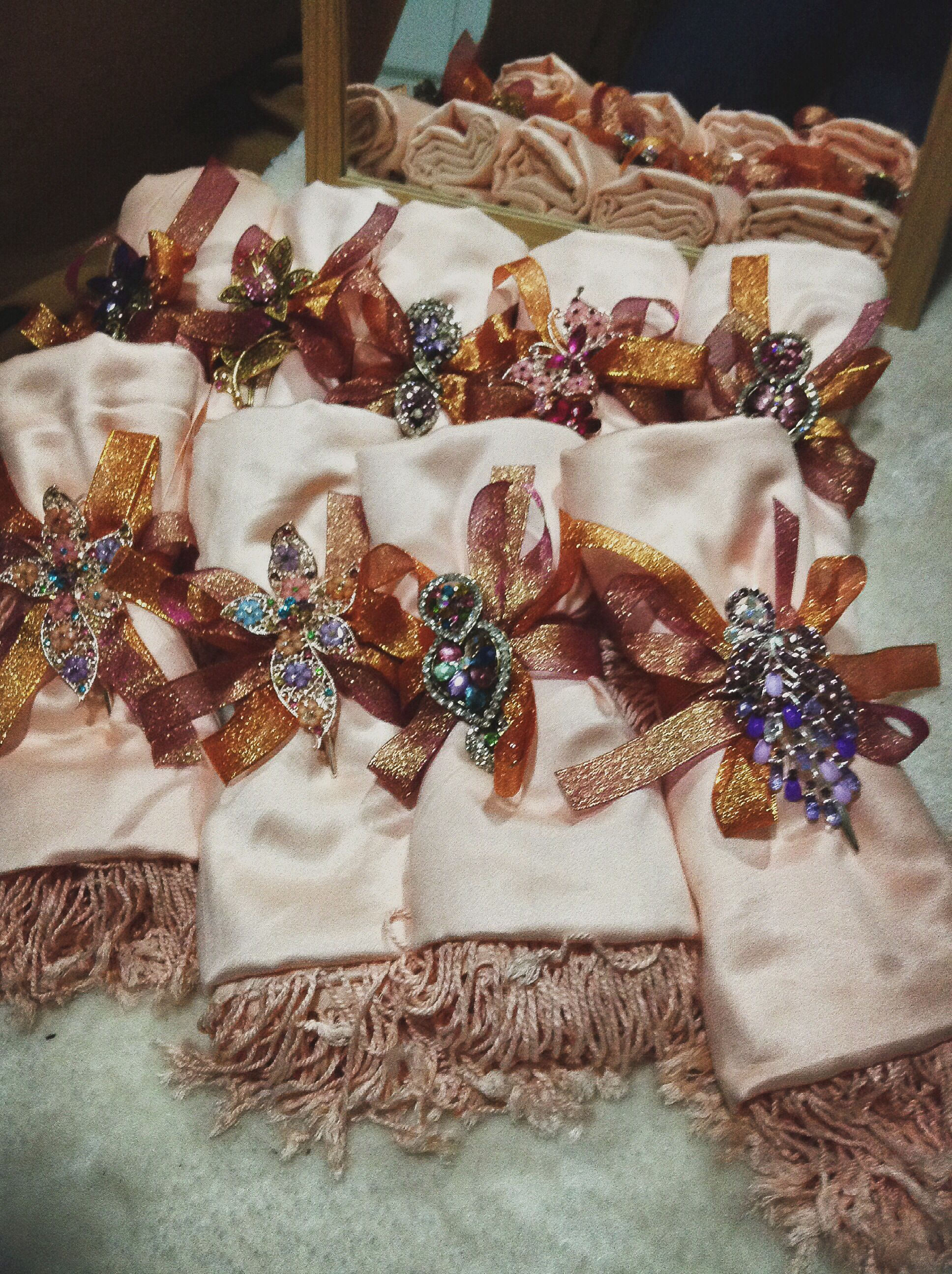 DIY Wedding Favours For Principal Sponsors. One Of My