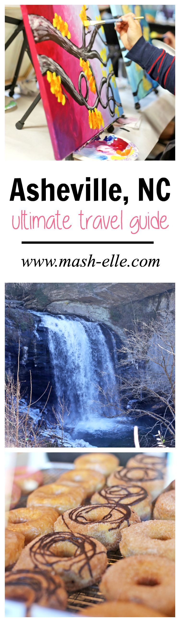 Asheville, North Carolina has so many activities and restaurants to experience! From waterfall tours to saltwater floatation, snow tubing, The Biltmore Estate and painting classes - Asheville has it all! Read my favourites here!