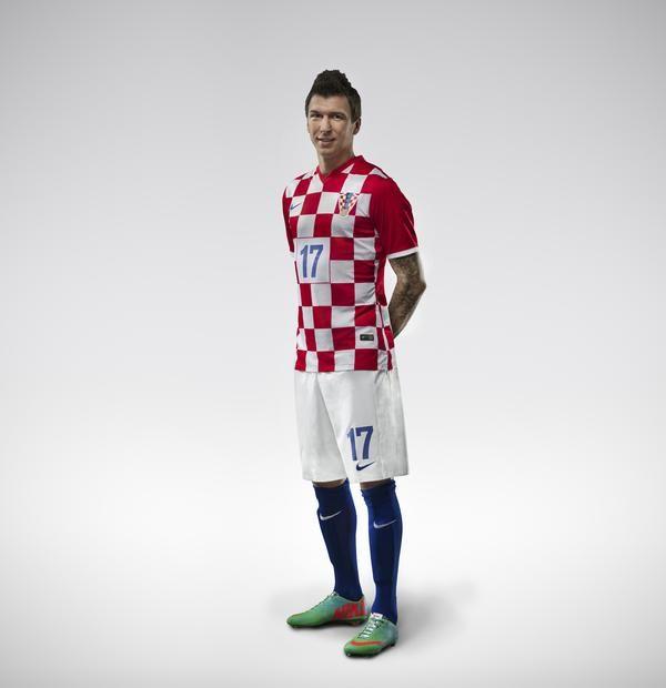9a7b3987e Nike Croatia Home Mario Mandzukic