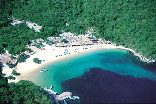 Bahía de Chahué, Huatulco Oaxaca