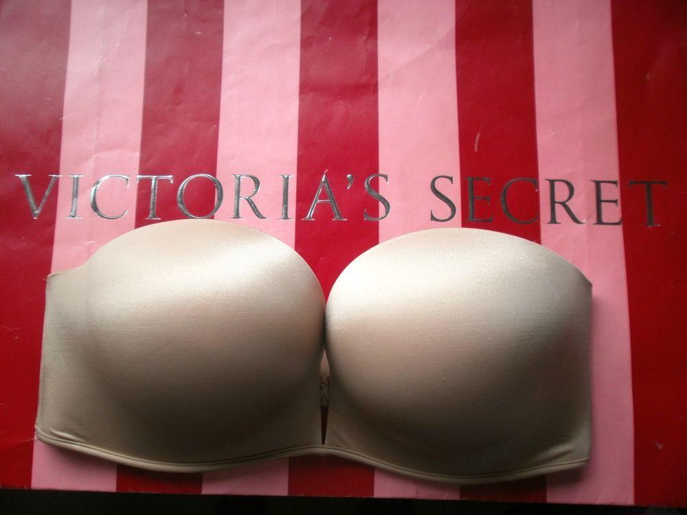 96cc1c4e3529c Victoria s Secret Very Sexy Bombshell Add-2-Cups Bandeau Multi-Way Bra Nude  34D  VictoriasSecret  PushUpBras