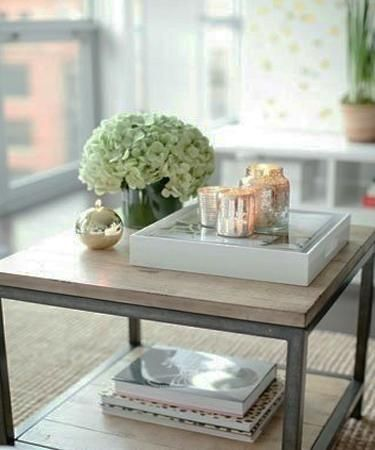 20 Coffee Table Decoration Ideas Creating Wonderful Floral Centerpieces With Images Decorating Coffee Tables Cool Coffee Tables Coffee Table