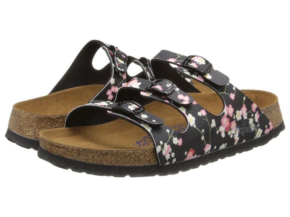 5524250ed038 Papillio by Birkenstock Womens Shoe Sandal Slide Mule Florida Soft Suki  Black  Birkenstock  Slides