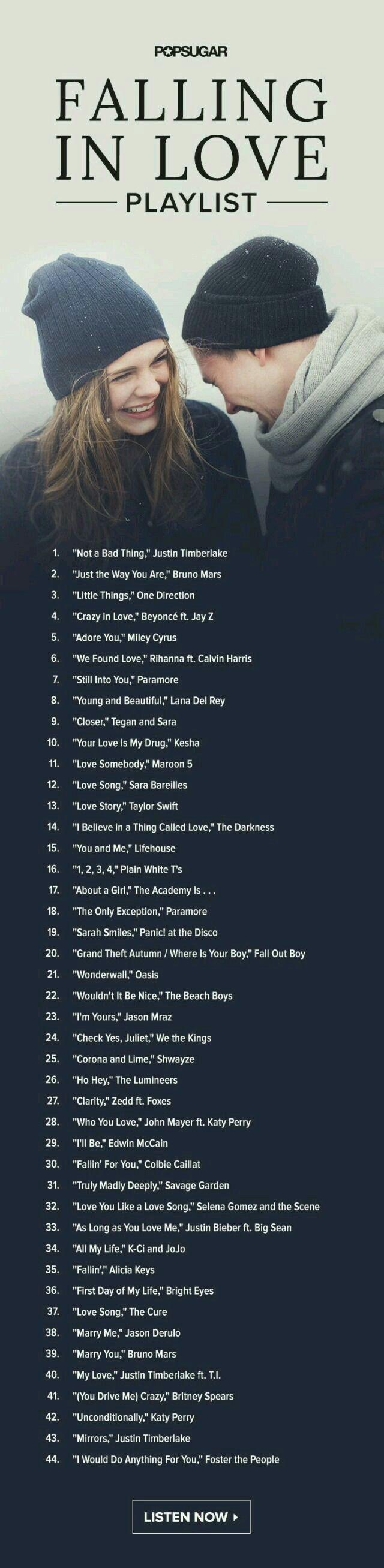List of happy love songs