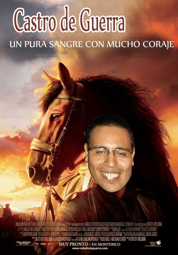 La Portada De La Proxima Pelicula De Nuestro Companero Castro Esto Y Muchos Mas En Www Fatalitys Com War Horse Horse Movies War Horse Movie
