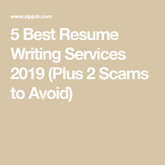 Best resume writing services dc rated