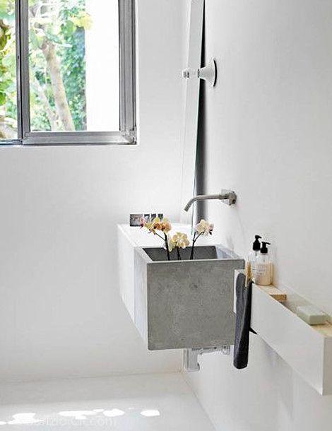 Interieurtrend: beton mag gezien worden | Toilet, Bathroom designs ...