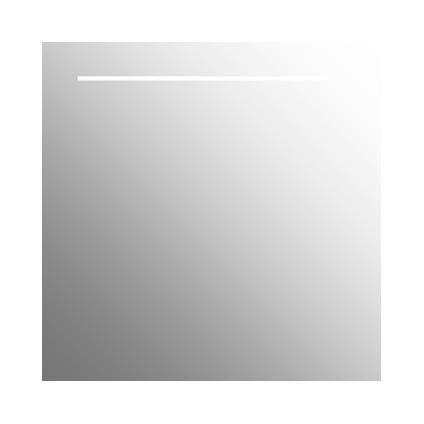 Plieger spiegel Basic verlicht 60 x 60cm   Praxis   Badkamer   Pinterest