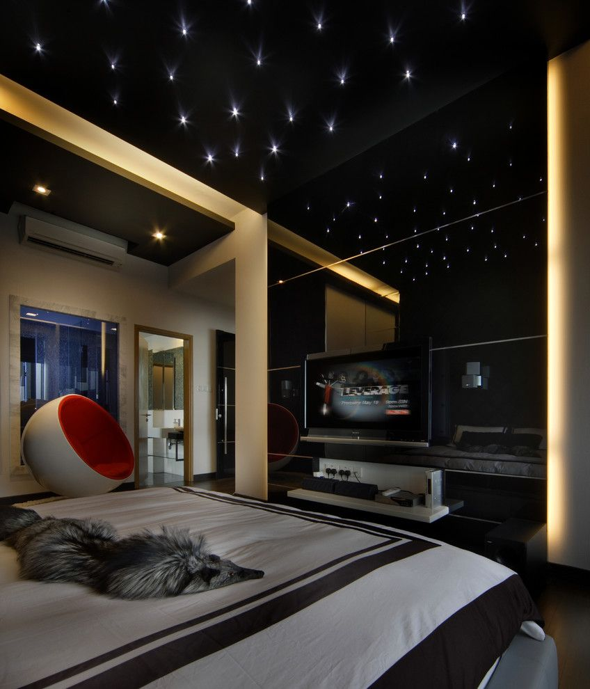 Sleek Contemporary Bedroom Designs For Your New Home Ceilings - Kids bedroom ceilings