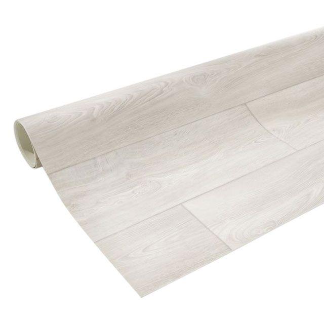 rev tement sol pvc design lame large blanc 4 m castorama. Black Bedroom Furniture Sets. Home Design Ideas
