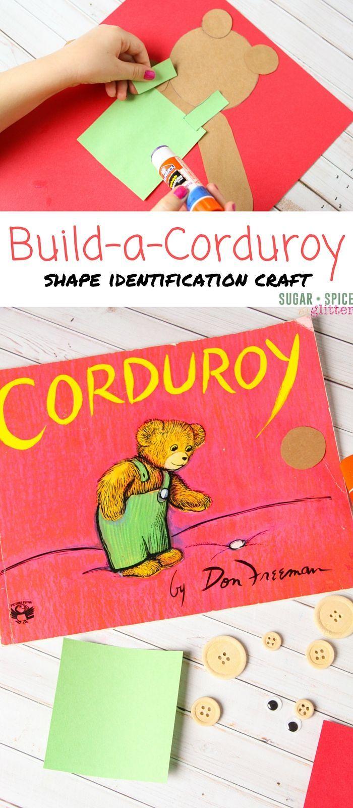 preschool books with activities building corduroy the educational activities 494