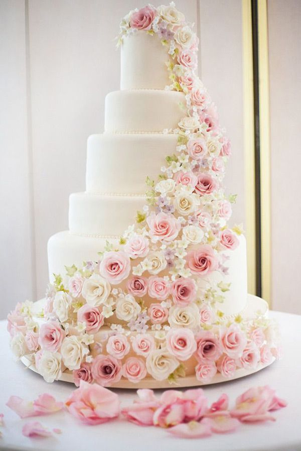 105 Inspiring Wedding Cakes Wedding Cakes Pink Indian Weddings