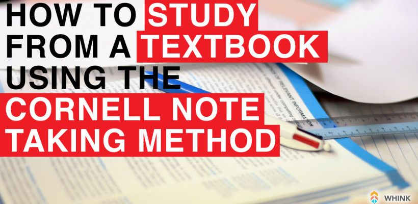 How To Use Cornell Note Taking  Cornell Notes College And Homeschool