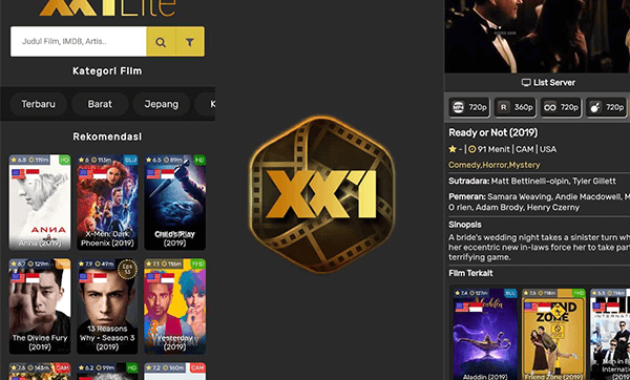 Download Aplikasi XX1 Lite untuk Streaming Film Gratis di