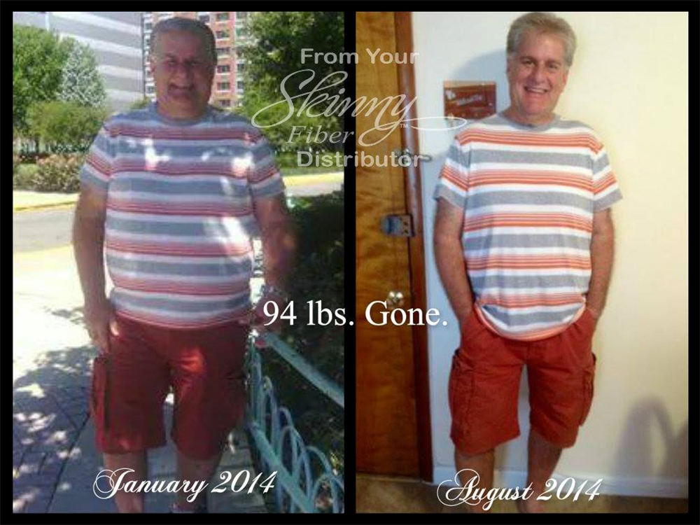 "Update!!! Dayton, another 4 pounds gone since July this is another picture with the same outfit what a difference.... ""I'm Dayton from beautiful state of Florida.  From 305 in Jan 2014 till 8/30/14, I am down to 211. That's 94 pounds! Thanks a million times over. You gave me my life back!!!!!! I owe it to you, your product and great recipes, (and a little work & dedication by me Lol.). If at 58 I can do it, anyone can. Just takes the same amount of time to get thin, as it did to eat like a…"