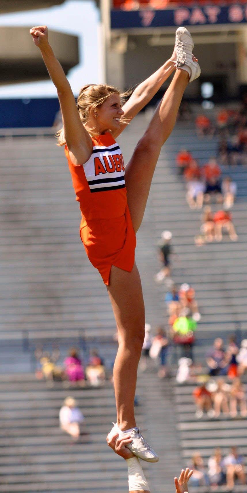 Auburn Cheerleader 2012