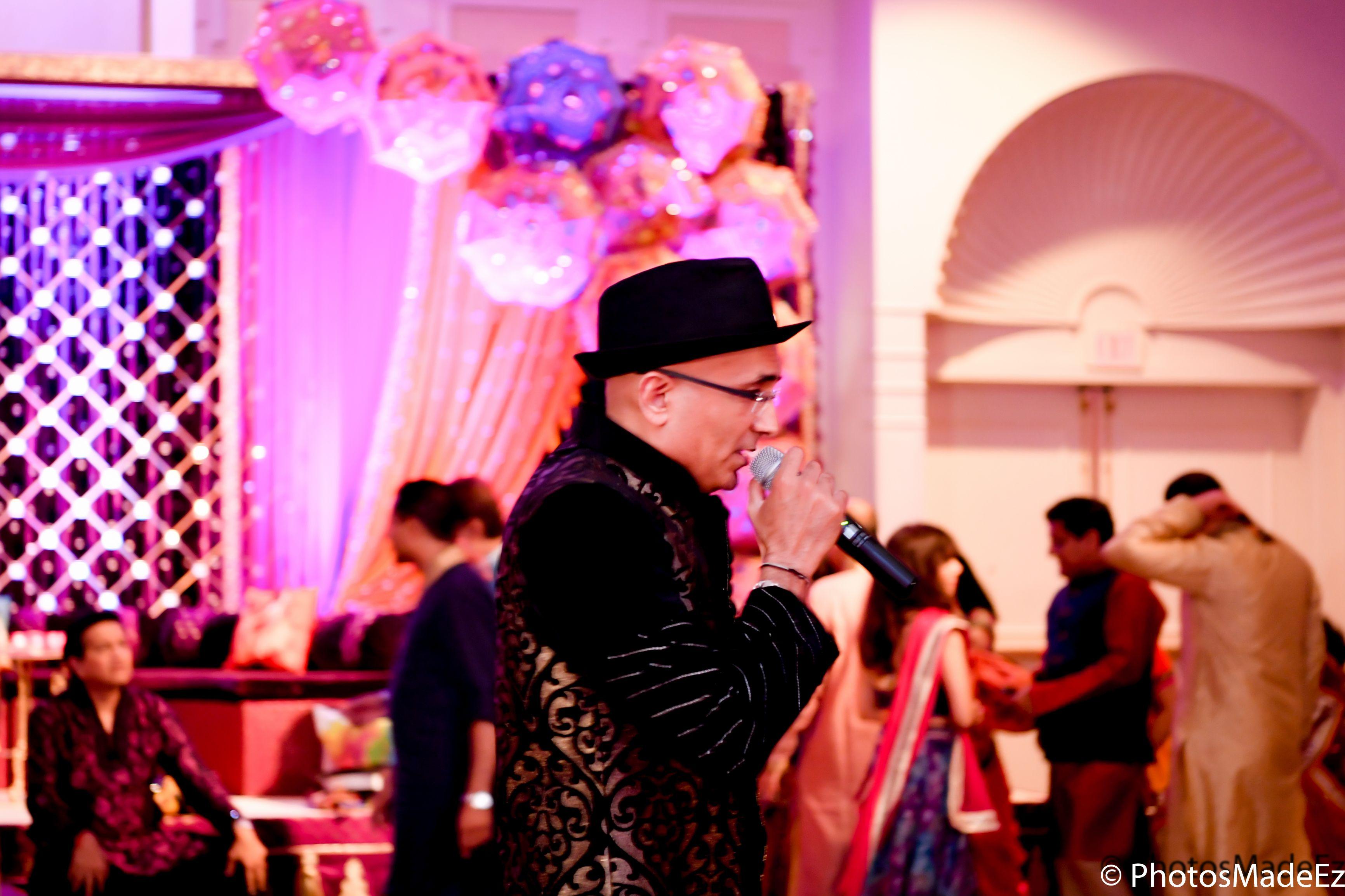 Sangeet night at Park Ridge Marriott. Decor by Elegant …   Garba ...