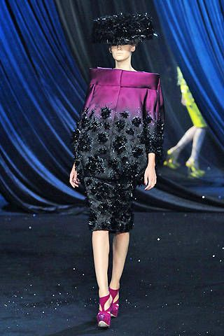 Christian Dior Spring 2008 Couture Runway - Christian Dior Haute Couture Collection