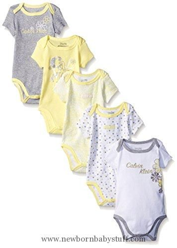 3ea559f89508 Baby Girl Clothes Calvin Klein Baby Girls  Assorted Short Sleeve ...