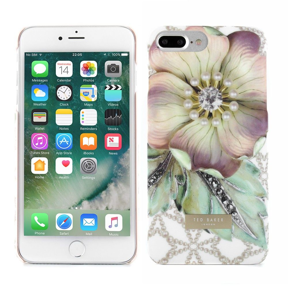 bc2eaebd5248 Ted Baker SS17 DINA Soft-Feel Hard Shell for iPhone 7 Plus