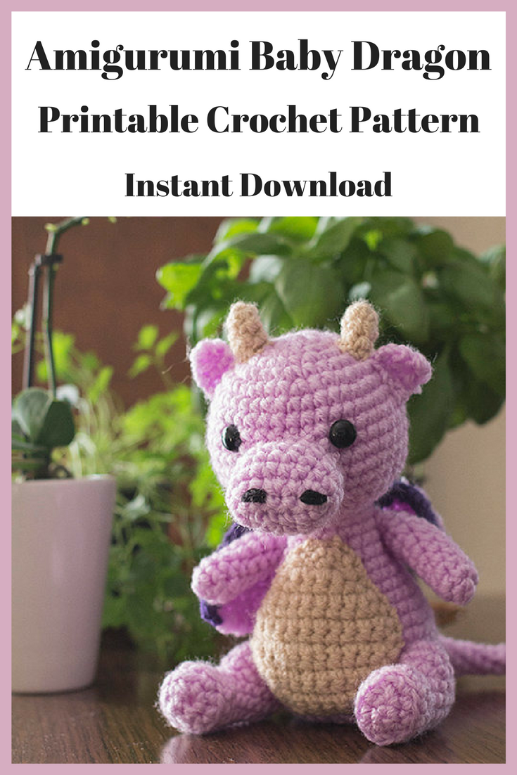 Dragon Amigurumi Crochet Pattern printable We are want to say ... | 1102x735