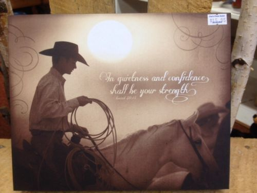 Sunset Cowboy Western Inspirational Wall Art Decoration Picture Ranching Gift for USD15.95 #Home #Garden #Home #Inspirational Like the Sunset Cowboy Western Inspirational Wall Art Decoration Picture Ranching Gift ? Get it at USD15.95!