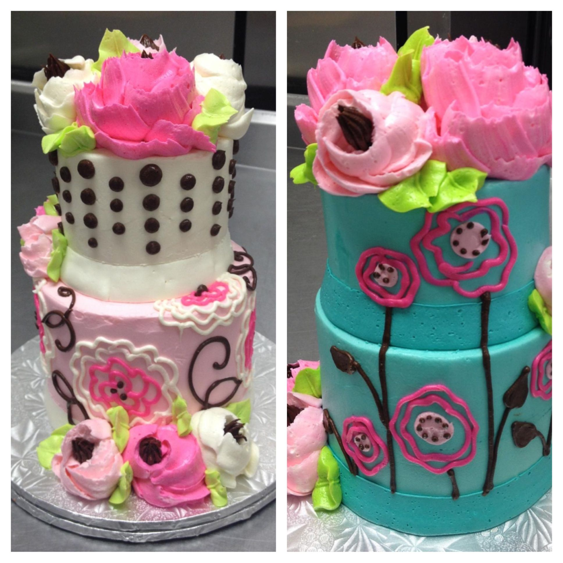 Adorable two tier cuties by the white flower cake shoppe adorable two tier cuties by the white flower cake shoppe dhlflorist Image collections